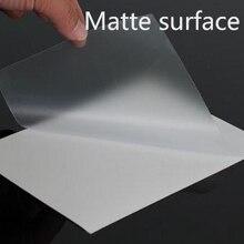 A6/A5/A4/A3/A3+ ПВХ прозрачные фотографии производства холодной ламирования пленки листы с матовой поверхностью