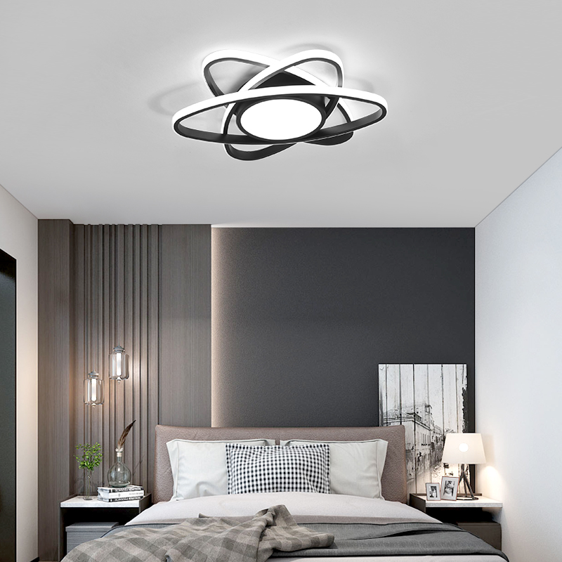 cheapest Modern LED Chandeliers For Living room Bedroom Kitchen Luminaries LED Ceiling Mounted Chandelier Lightings chandelier lamp