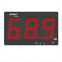 Digital Sound level meter 30~130db noise db meter measuring large screen hanging type Noise Decibel Monitoring Testers