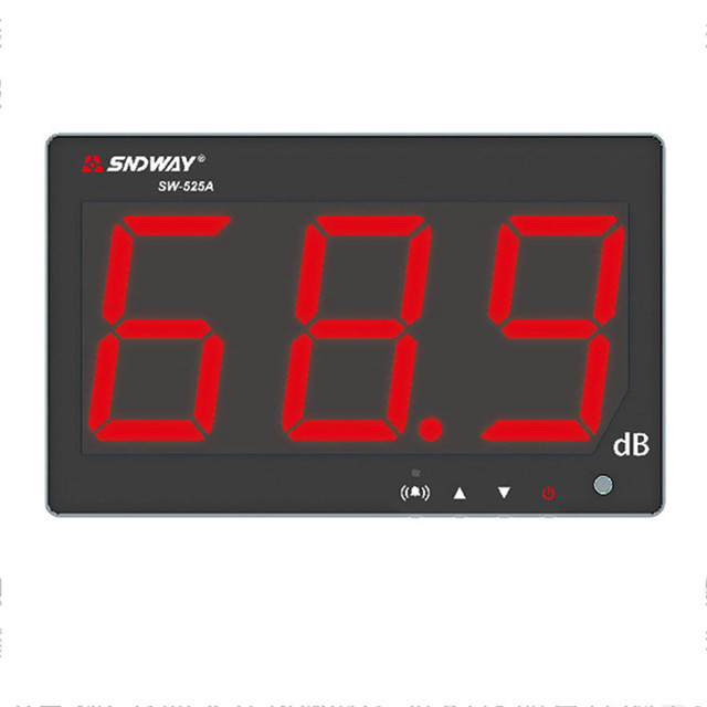 Digital Sound level meter 30~130db noise db meter measuring large screen hanging type Noise Decibel Monitoring Testers