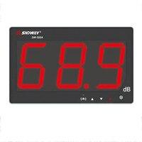 Som Digital medidor de nível 30 ~ 130db medidor de ruído db medição tela grande tipo de suspensão Testadores de Monitoramento de Ruído em Decibéis