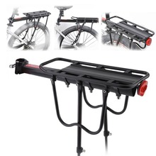 Bicycle Luggage Carrier Cargo 50KG Load Rear Rack Road MTB Shelf Cycling Seatpost Bag Holder Stand For 15-20′ Bike +Install Tool