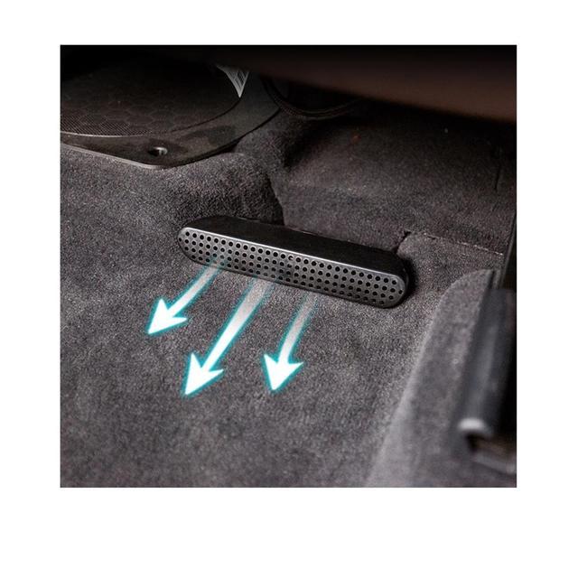 RUIYA Auto-Styling di Calore Piano Aria Condizionata Condotto di Sfiato Griglia di Uscita Della Copertura fit Per BMW X3 G01/ BMW X4 G02 Accessori auto
