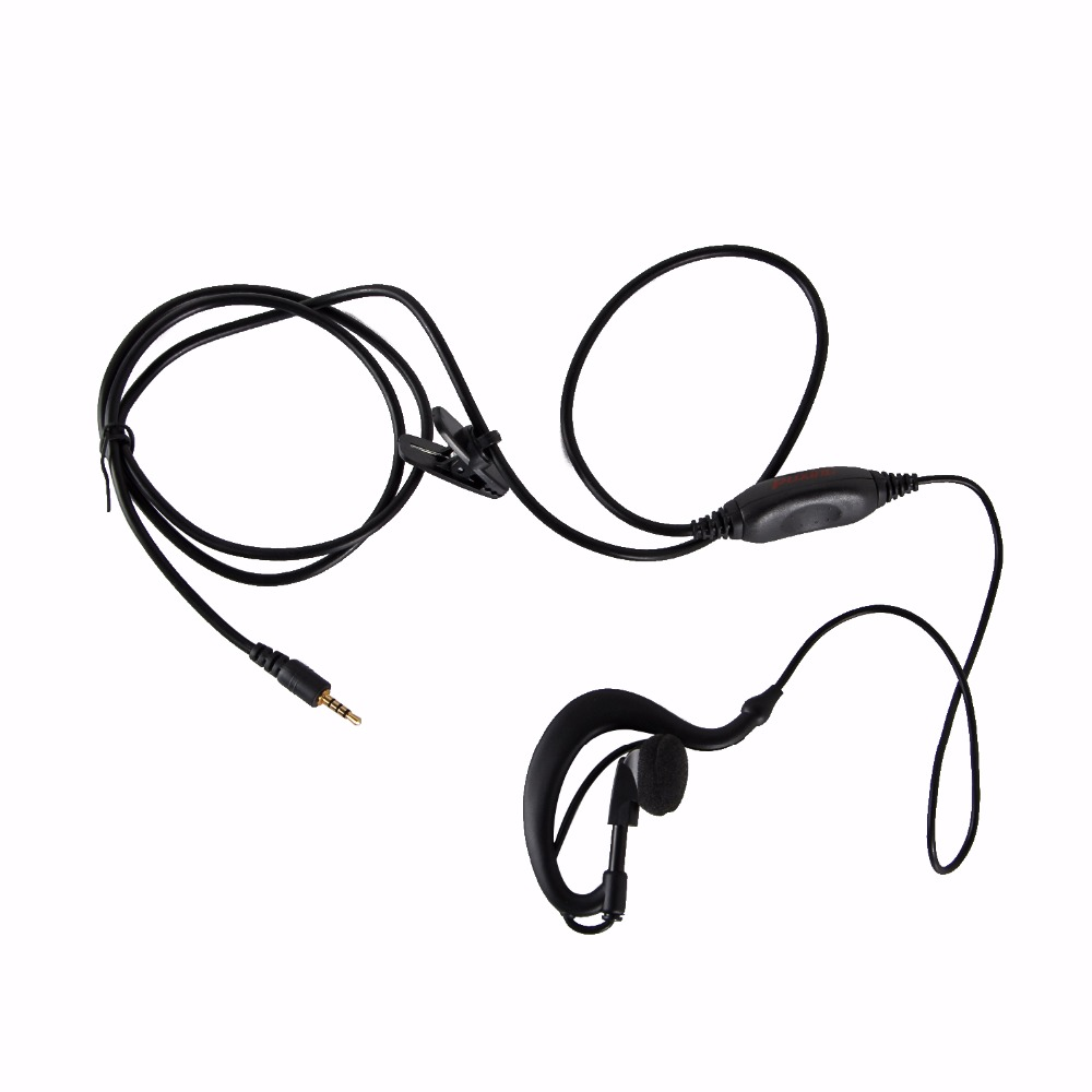 Original PTT Earpiece For Puxing Radio PX-2R PX-2R PLUS PX-A6 PX-A6 PLUS With Microphone PX-2R PX-A6 Headset Earphone