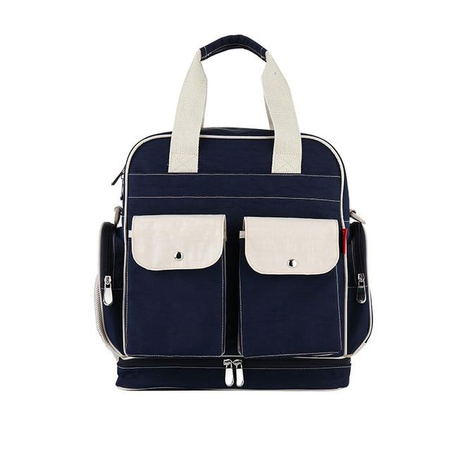 Us 24 85 37 Off Insular Large Capacity Fashion Baby Diaper Bags Backpack Mummy Ny Bag Totes Shoulder Messenger Waterproof Organizer Handbag In