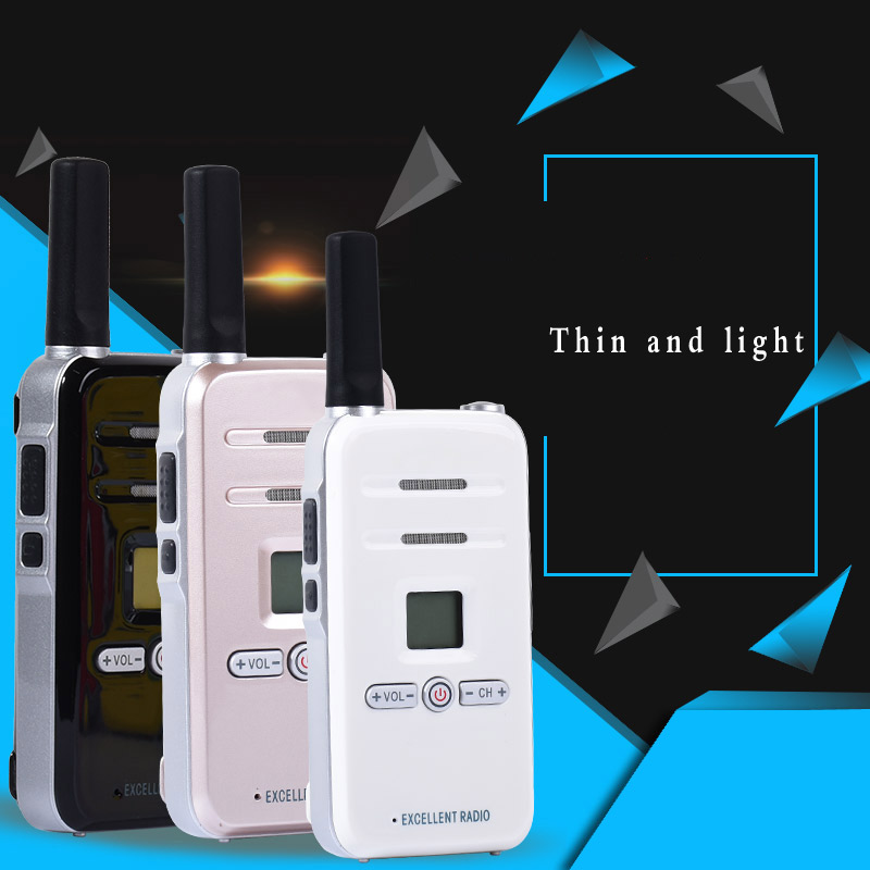 2 pz Walkie Talkie Radio TDX TD-Q7 3 w Portatile Ham CB Radio A Due Vie Palmare HF Ricetrasmettitore del Interphone