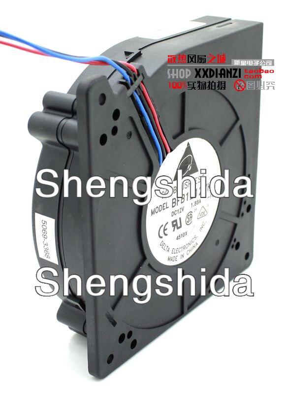 Для delta BFB1212VH 12032 отличное центробежный вентилятор, вентилятор 12В 1.88A