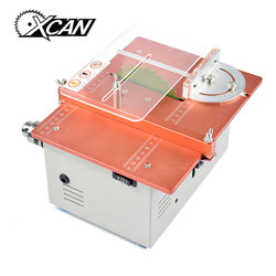 XCAN 24V Mini Table Saw Portable DIY Wood Cutting Saw Adjustable Saw Blade Mutlifunction Mini eclectic Saw Woodworking Tools
