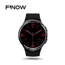 ใหม่finow x3บวกk9บลูทูธsmart watch android 5.1 mtk6580 quad core 1กิกะไบต์+ 8กิกะไบต์อัตราการเต้นหัวใจs mart w atchนาฬิกาสำหรับios Android