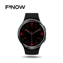 Nueva Finow X3 Más K9 Bluetooth Reloj Inteligente Android 5.1 MTK6580 Quad A Core 1 GB + 8 GB Del Ritmo Cardíaco Reloj Smartwatch Para iOS Android