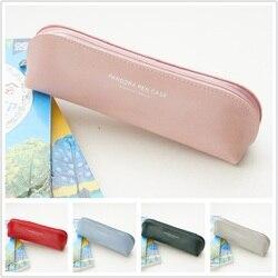 Cukierki kolorowy ołówek torba Pandora piórnik dla szkoły dziewczyna Zipper pokrowiec na długopis gumki etui Kawaii biurowe organizer na narzędzia prezent torba Piórniki    -