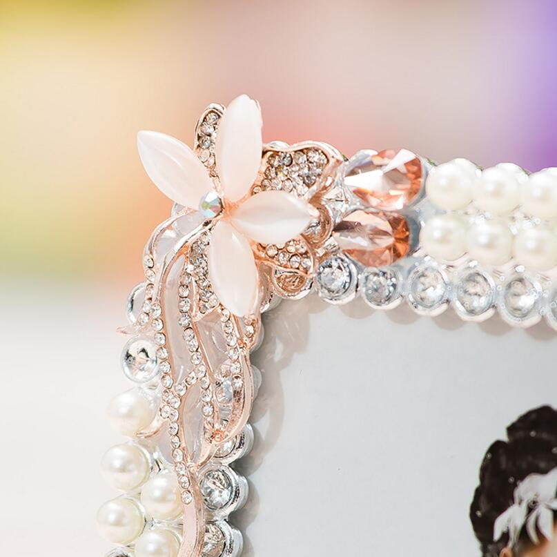 Sufeile creativo vidrio HD 8 pulgadas Foto Marcos diamante perla ...