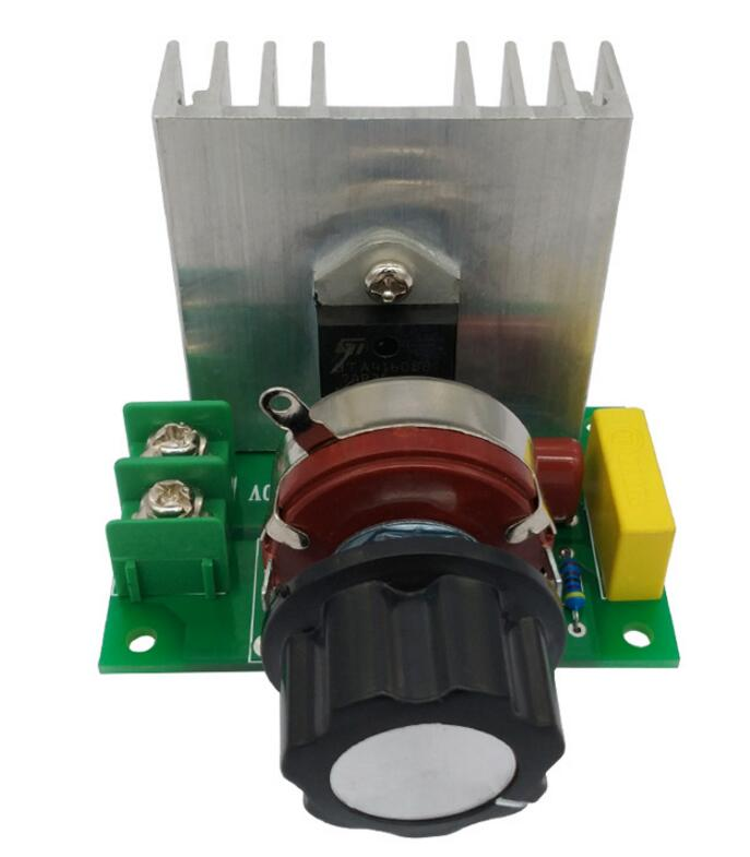 4000W AC 220V High Power SCR Voltage Regulator  Adjustable Power Supply Board Speed Control Dimmer For