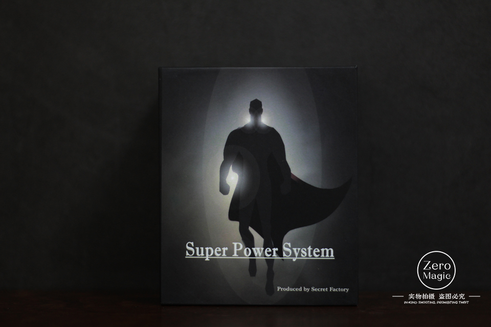 [SPS] Super Power System By Secret Factory(PSI - POWER)- Magic Trick,Mentalism,Close Up,Street,Fun,Party Trick,Illusion,Gimmick