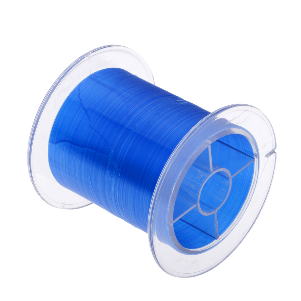 Ultra-high Strength Nylon Monofilament Super Power Fishing Line Soft and Smooth Mono Nylon Fish Line 500m 546yard image