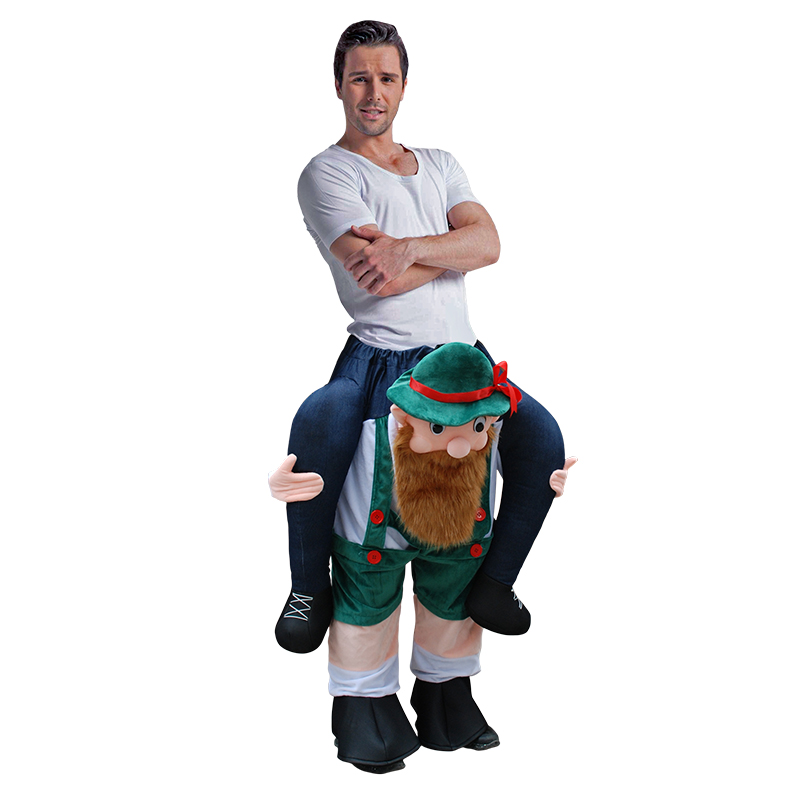 New Shoulder Ride On Piggy Back Ride On Costume Fancy Dress Adult Party Costume Mens Mascot For Halloween Purim Animals Cosplay