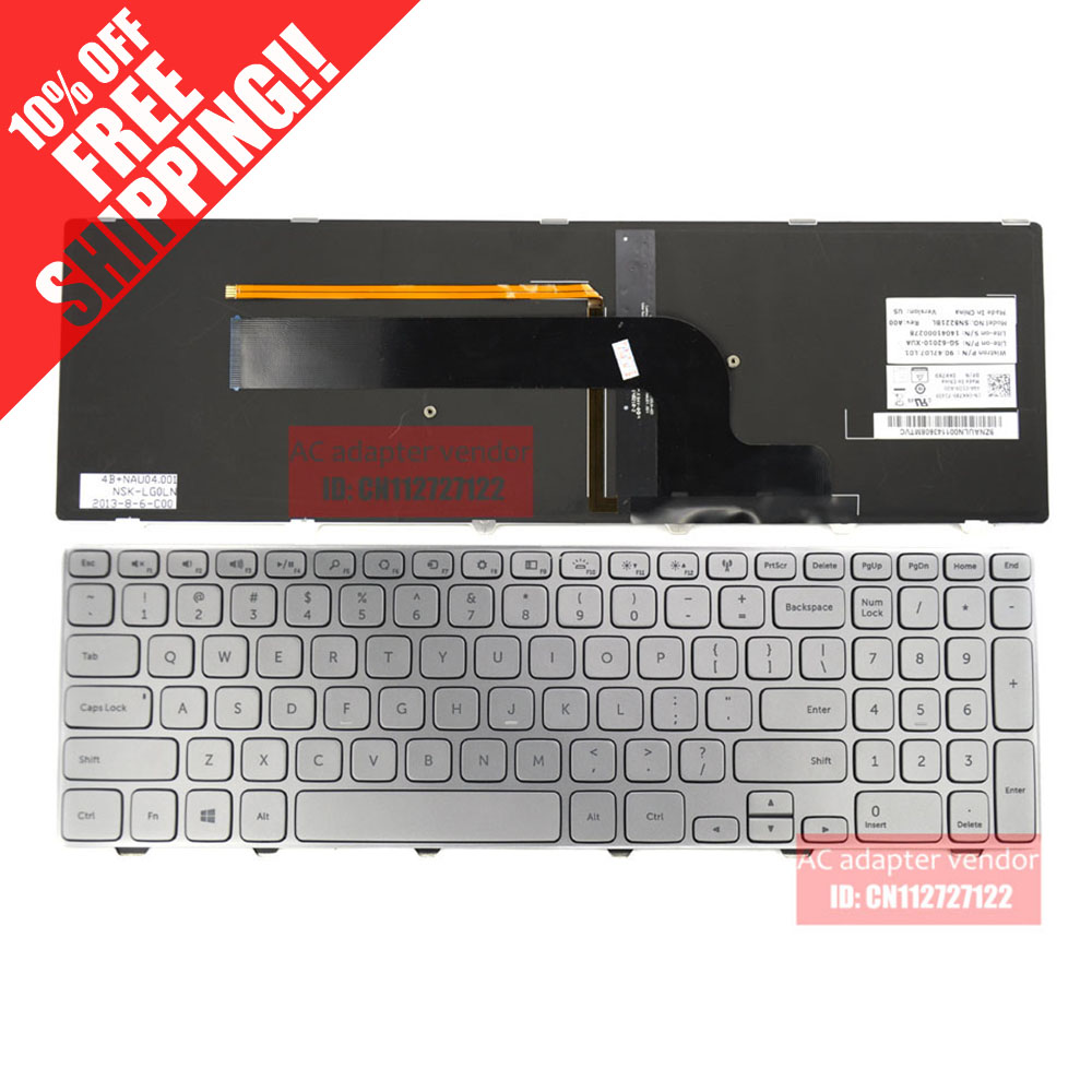 Online Shop For Dell Inspiron 15 7000 Series 7537 7737 Keyboard Asus X540 X544 X540l X540la X540lj X540s X540sa X540sc Backlight Aliexpress Mobile
