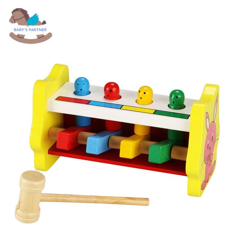 В наличии деревянный бить стучать игрушка перкуссия Toy Классическая игра образовательных выбить стол ребенка дошкольного образования Игру... ...