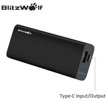 BlitzWolf 6700 mAh Banco Portable Externo del Cargador de Batería Dual USB Tipo C Del Teléfono Universal Para el iphone Para Xiaomi Powerbank