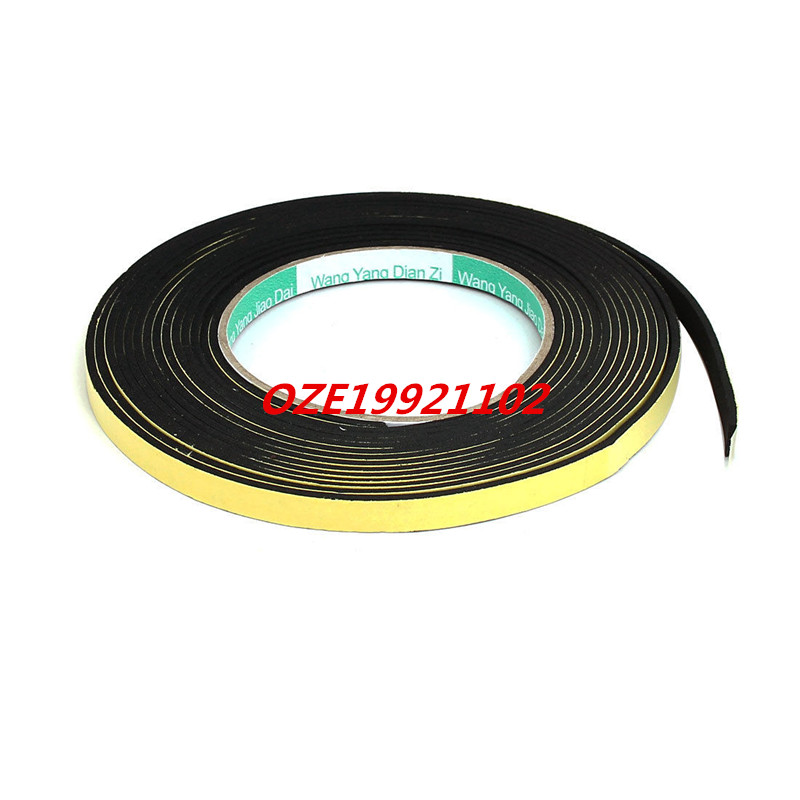 1PCS 8mmx2mm Double Sided Sponge Tape Adhesive Sticker Foam Glue Strip Sealing 5Meter 1pcs single sided self adhesive shockproof sponge foam tape 2m length 6mm x 80mm
