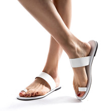JAYCOSIN Women's Sandals Shoes Women's Ladies Spring Summer Solid Flat Heel Slippers Beach Sandals Roman Summer Shoes Woman #42