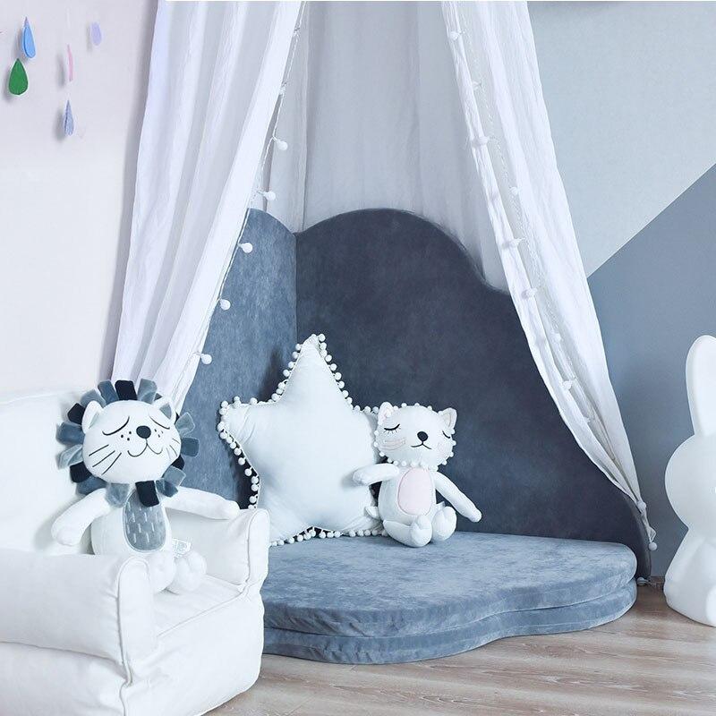 Ins nordique trèfle à quatre feuilles bébé ramper tapis enfants tapis de sol multi-fonction pliable lavable doux enfants chambre décor
