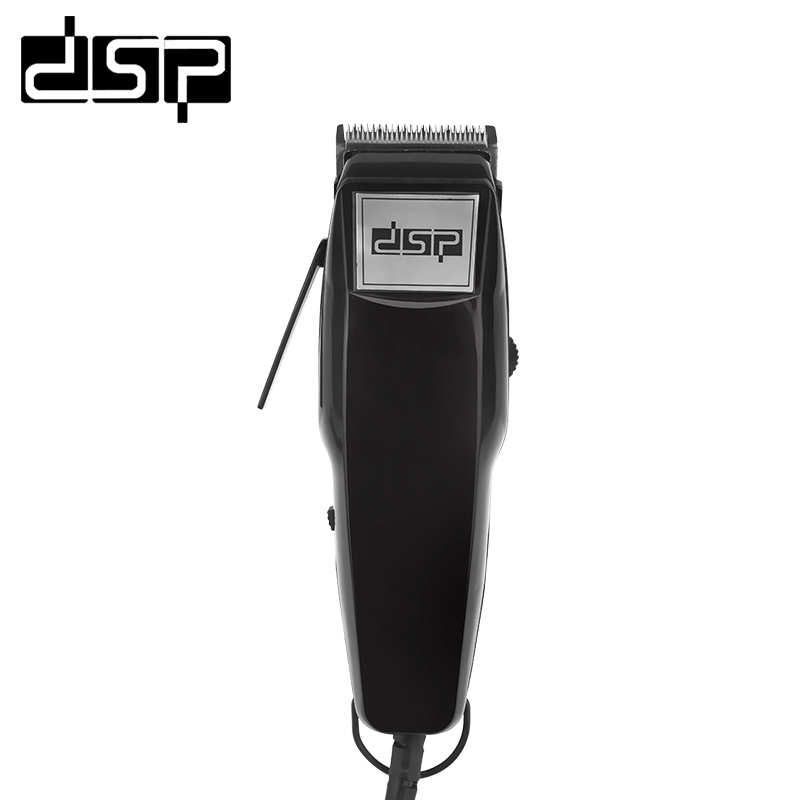 DSP Professional Electric Hair Clipper Titanium Steel Blade Hair Trimmer Barber Cutting Machine Hair Shaving Tool beard razor rechargeable hair trimmer clipper men electric barber cutter cutting machine haircut shaving razor ceramic titanium blade 4 comb