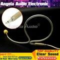 3.5mm Invisible Flesh Color Head Worn Single Ear Hook Headset Microphone Karaoke Mic Mikrofon For Wireless BodyPack Transmitter