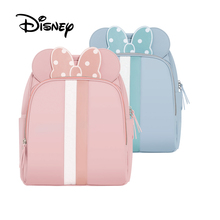 Disney Водонепроницаемый Материал мумия пеленки мешок Multi-Функция подгузник рюкзак большой Ёмкость детские сумки изоляции мешки