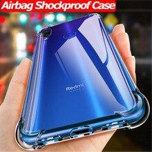 Airbag Shockproof phone Case for Xiaomi Mi 9T Pro Mi A2 8 Lite 9 SE Silicone TPU Case Redmi Note 7 5 Pro Redmi 7 GO Back Cover super shockproof phone case for xiaomi mi 9t mi 8 lite a2 lite mi 9 airbag silicone tpu case for xiaomi mi 9t mi 8 lite cover