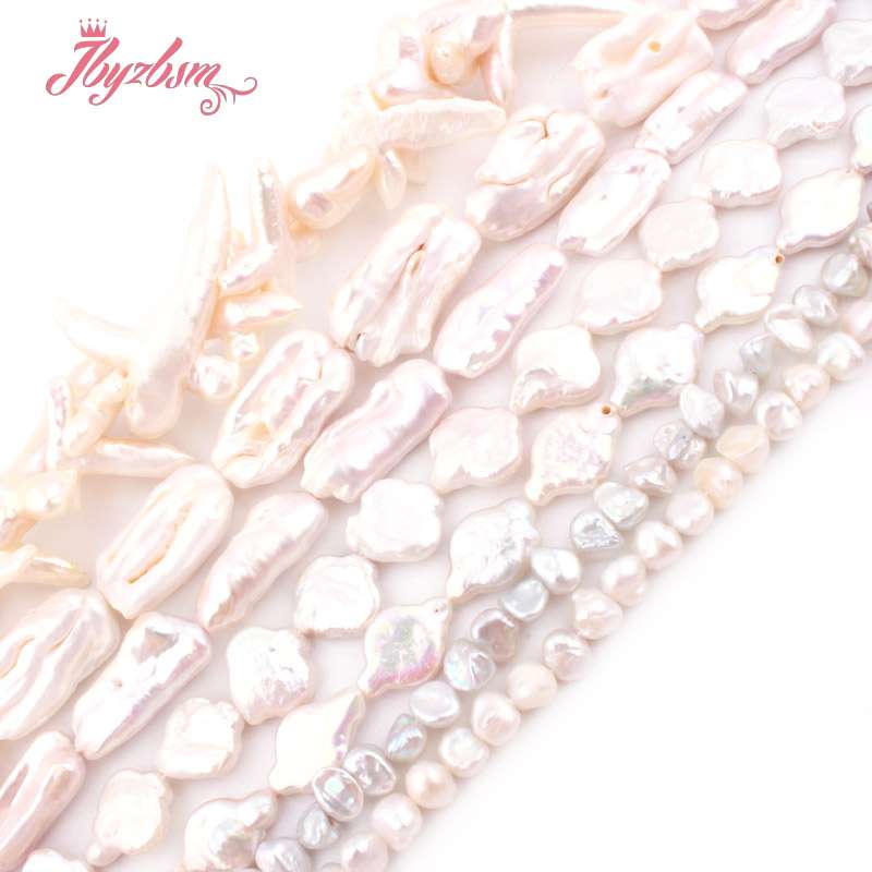 Natural Freshwater Pearl Edsion Loose Stone Beads For Jewelry Making DIY Woman Gift Necklace Bracelet Eaaring Spacer Strand 15