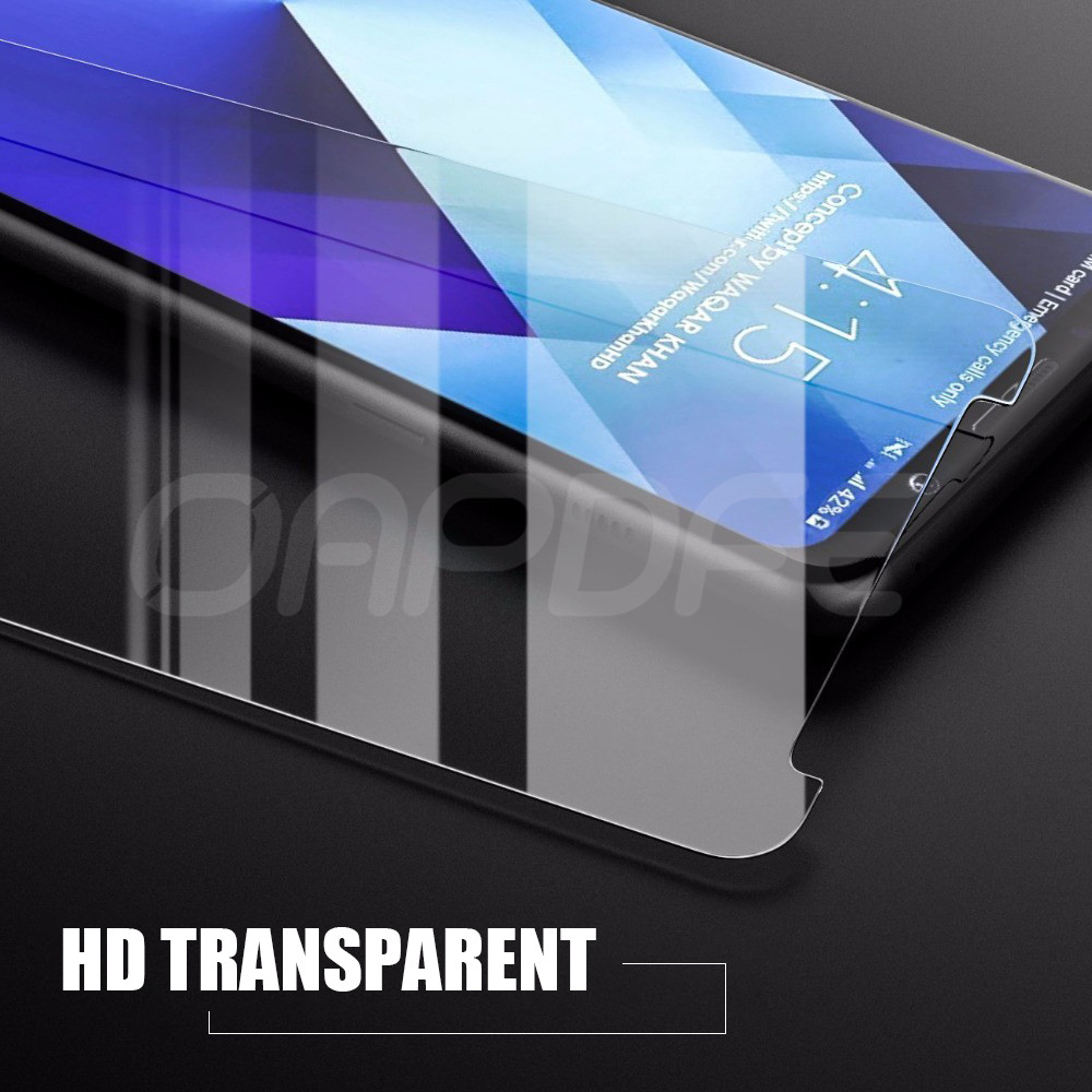 Image 5 - Premium Tempered Glass For Samsung Galaxy A3 A5 A7 2015 2016 2017 A6 A8 Plus A9 2018 Screen Protector HD Protective Film Case-in Phone Screen Protectors from Cellphones & Telecommunications