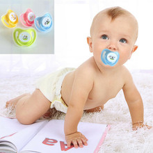 Funny Baby Cоска Kid Pacifier Nipples Teeth food-grade Silicone Orthodontic Dummy Teat(China)