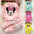 Conjuntos de Roupas de bebê Menina 2017 Crianças Primavera Roupas Bebê Recém-nascido Roupas Roupas Bebe Infantil Macacão de Bebê Menino Menina Roupa Do Bebê