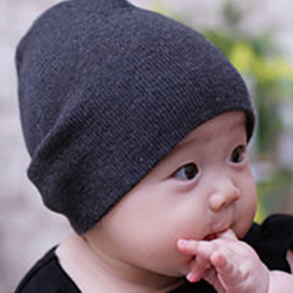 ทารกแรกเกิดถักโครเชต์ Beanie หมวก Boy Girl ฤดูหนาว Warm เด็กเด็กวัยหัดเดินหมวก Skull หมวกหมวกขนสัตว์นุ่มน่ารักหมวกหมวก Beanie