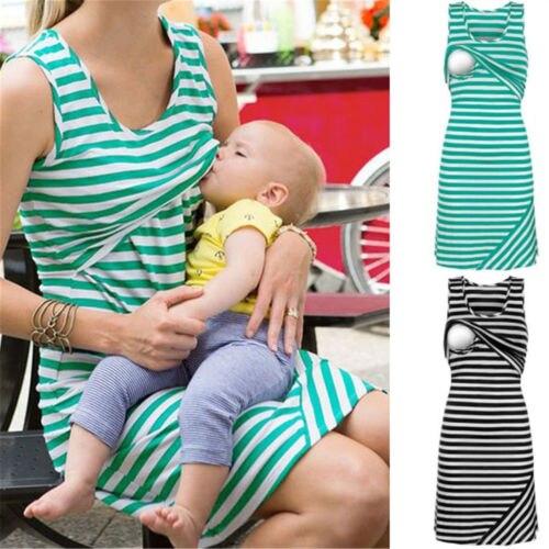 Emmababy sin mangas vestidos de maternidad vestido de lactancia para las  mujeres embarazadas en Vestidos de Mamá y bebé en AliExpress.com  6cf6f2df82af