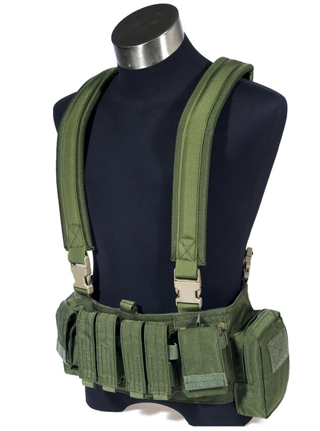 MOLLE FLYYE High Speed Recon Chest Rig Military Tactical Vest CORDURA Multicam AOR VT-C015