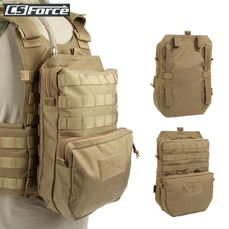 Tactical Molle Vest Water Hydration Pouch For 3L Camel Water Bag Durable H2O Pouch Attached To Tactical Vest Hydration Backpack