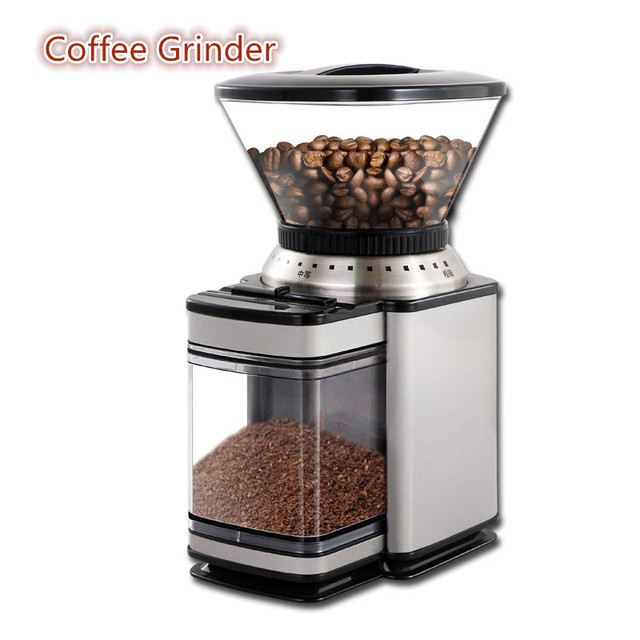 Electric Coffee Grinder Bean Grinding Machine Coffee Mill Both