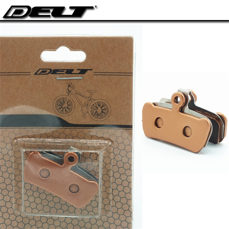 DELT Metallic MTB Bicycle bike disc brake pads friction pads for AVID XO E7 E9 TRAIL 4 Pistions bicycle bike parts