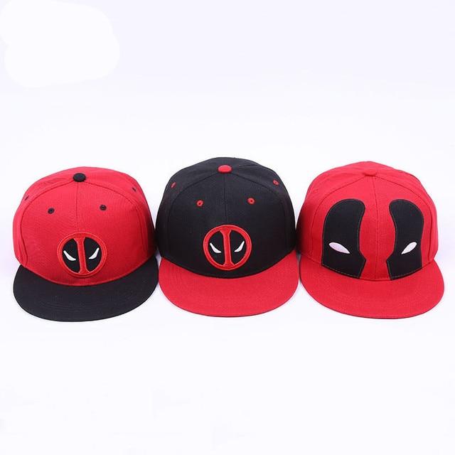 Marvel nuevo superhéroe 3D Deadpool 2 cap bordado ajustable sombrero de  béisbol de algodón Cosplay hip 24a1354d448