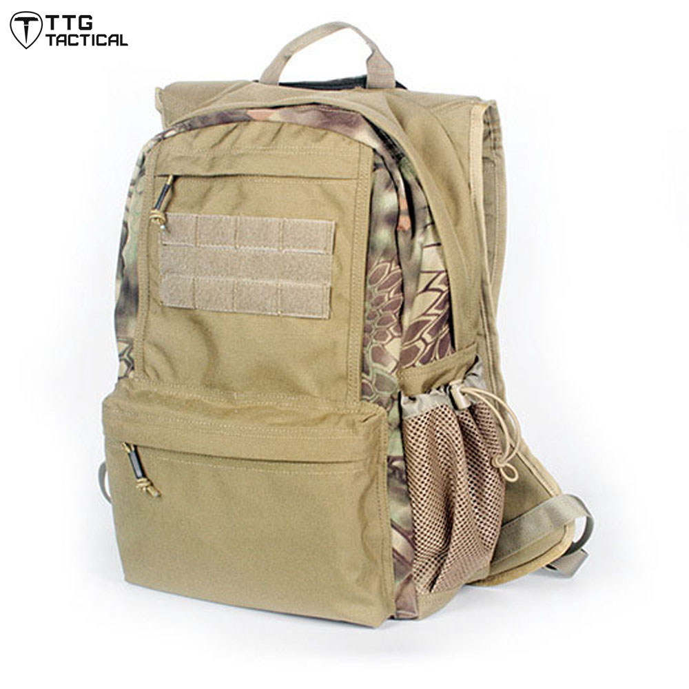 MOLLE Hooded Military Backpack Waterproof Camouflage Travel Rucksack 1050D Nylon Durable Assault Backpack baigio men backpack military molle assault backpack 3 way modular attachments 50l waterproof bag rucksack male travel bags