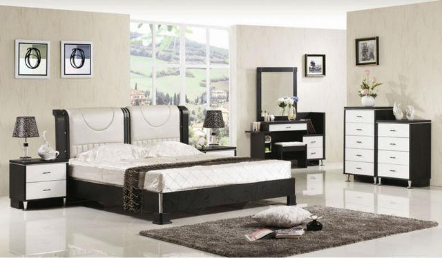 Suite de lujo muebles de dormitorio de tipo europeo estilo ...