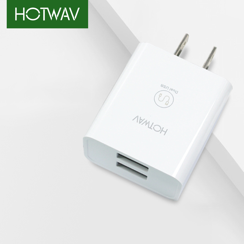 HOTWAV Dual USB Charger Universal Battery Charger US Version Charger Adapter For iPhone iPad Samsung Xiaomi Phone Charger