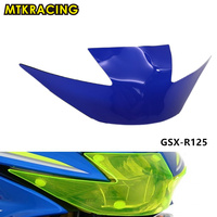 MTKRACING GSXR 125 150 Motorbikes Acrylic Headlight Protector Cover Screen Lens For Suzuki GSX R125 GSX R150 2017 2018