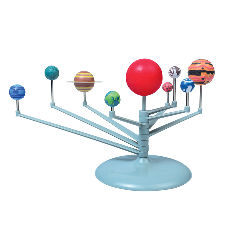 SLPF DIY The Solar System Nine Planets Planetarium Model Kit Science Astronomy Project Early Education Toys For Children New E03