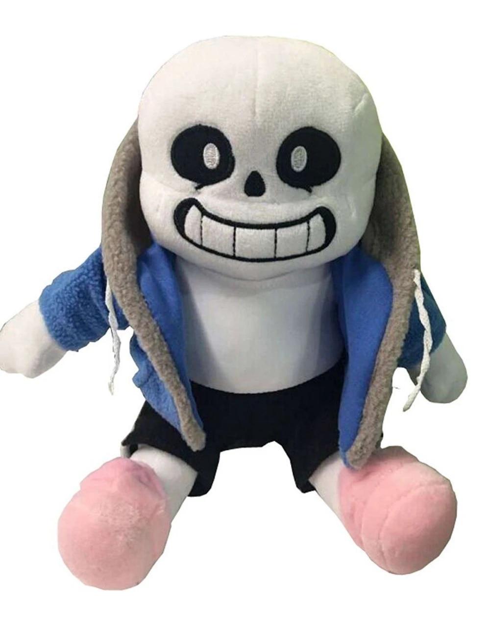 Undertale Sans Plush Stuffed Doll Toy Pillow Hugger Cushion Cosplay Toy KidsGift
