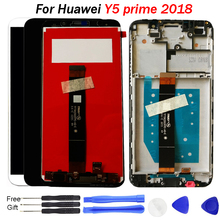 Y5 Prime Screen For Huawei Y5 Prime 2018 LCD Display Touch Screen Digitizer Assembly For Huawei Y5 Pro 2018 LCD With Frame