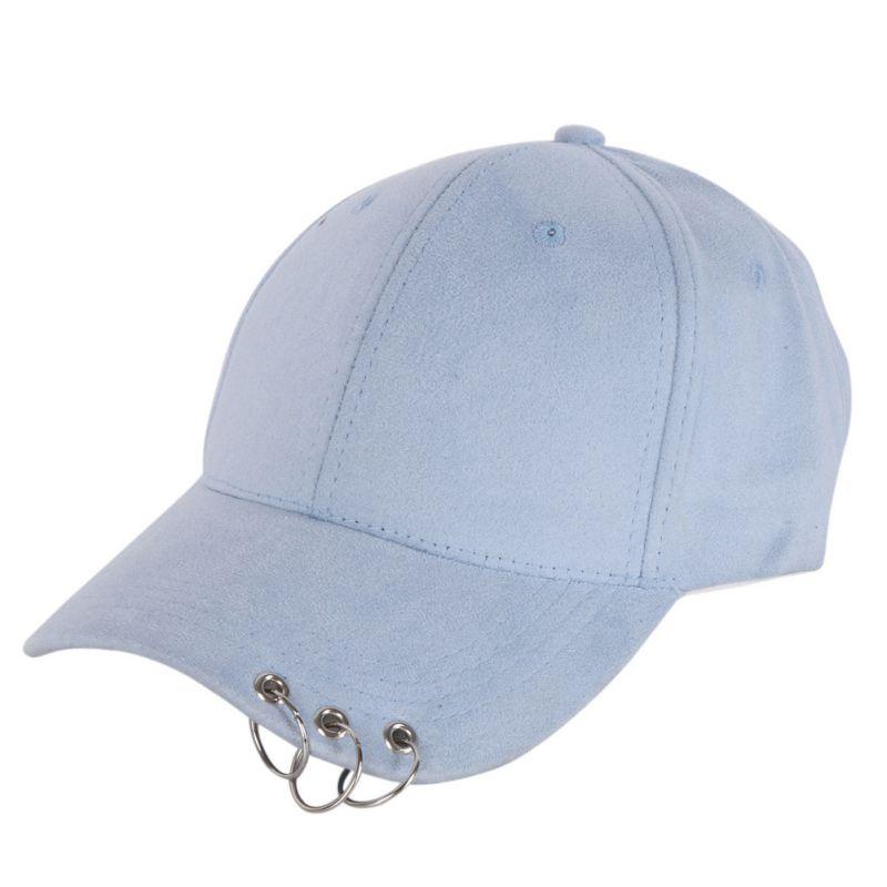 Unisex Casual Feste Einstellbare Baseball Caps Snapback hüte für männer baseball kappe frauen männer weiß baseball cap hut mit Ringe