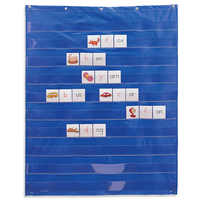 10 Giant Standard Insert Card Home Scheduling Easy Mounting Transparent Pocket Chart Classroom Teaching Learning Resources